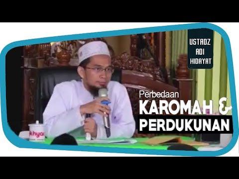 Perbedaan Karomah Dan Tipudaya Dukun    Ustadz Adi Hidayat Lc MA
