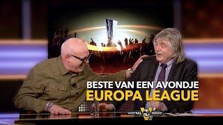 Samenvatting avondje Europa League met Derksen en Gijp razendpopulair