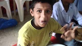 Feeding in Ghatkesar, India