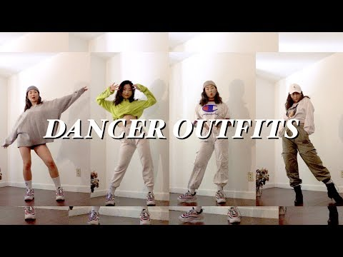 Trying To Dress Like A Dancer Lookbook