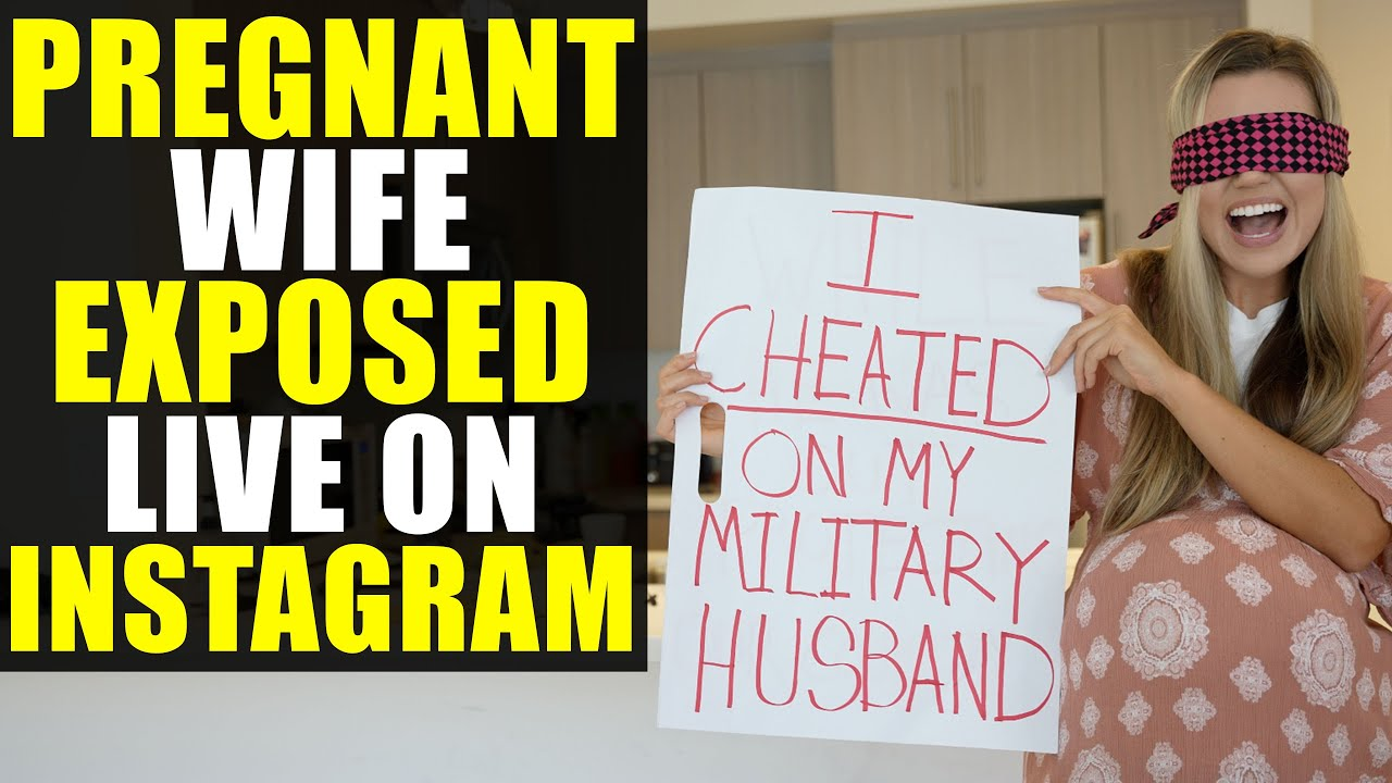 Pregnant Wife EXPOSED on Instagram Live!!!!