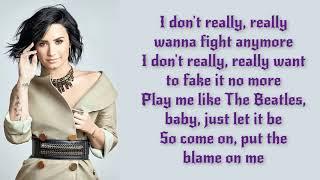Luis Fonsi, Demi Lovato Échame La Culpa Lyrics Letra Video Official Original HD 2017