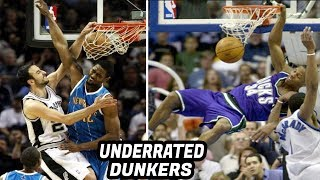 Most UNDERRATED NBA Dunkers in the Last 20 Years!