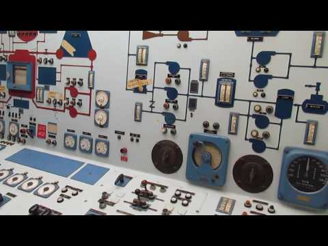 NS Savannah Control / Engine Room Tour