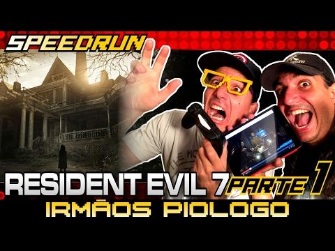 Speedrun Resident Evil 7 com as Bestas Rodrigo Piologo e Calango – PARTE 1