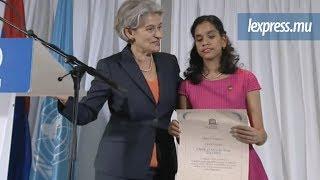 Unesco: Jane Constance officiellement «Artist for peace»
