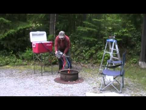 Campfire Water Heater Youtube