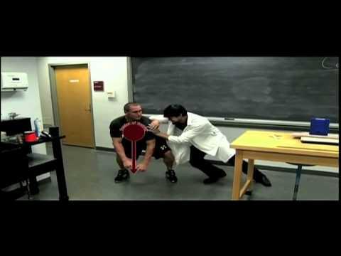 Physics of Football - Center of Gravity
