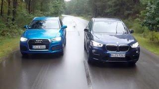 BMW X1 im Vergleich gegen den Audi Q3 (2015)