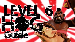 LEVEL 6 HOG GUIDE [Queen Walk + GoVaHo Strategy for Th10] in Clash Of Clans