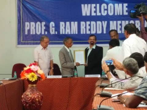 Prof  Sony Pellissery at CESS, Hyderabad on 4th December, 2015