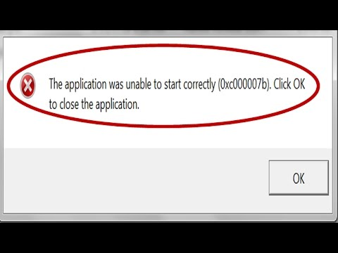 How to Fix Error 0xc00007b in Windows 10/8 1/8/7 | 5 Solutions | 100% FIX