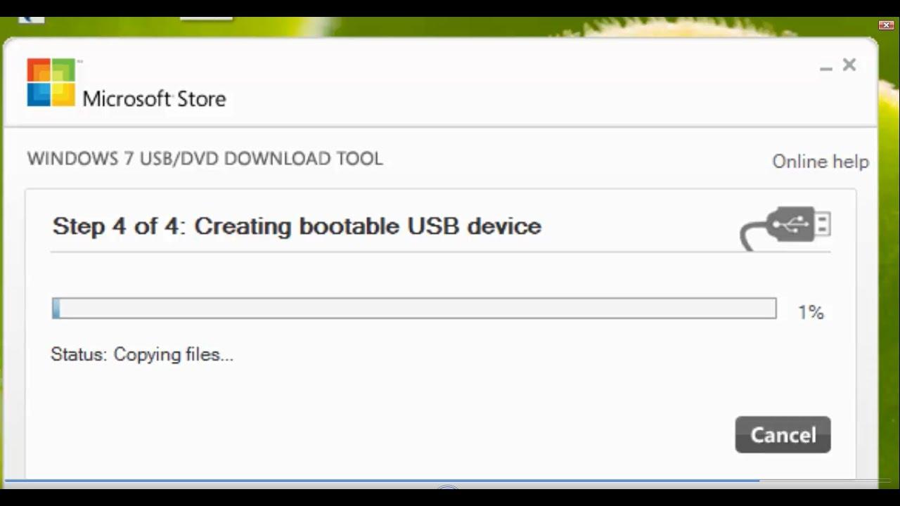 burn iso bootable usb windows 7