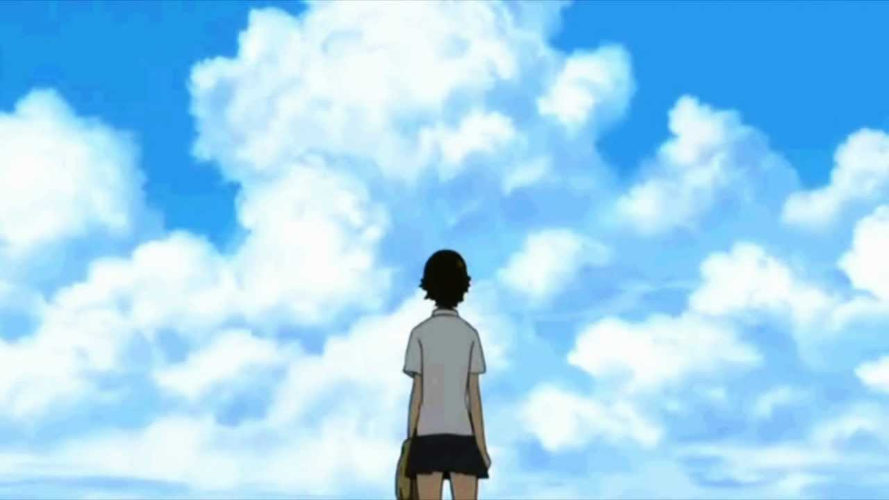 The Girl Who Leapt Through Time Wallpaper 1920x1080 Time Waits For No One Youtube