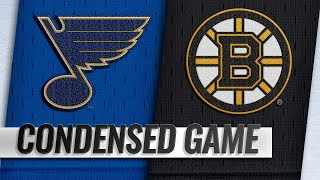 01/17/19 Condensed Game: Blues @ Bruins