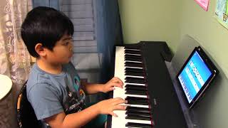 "6-year-old Renzo plays ""Havana"" with Simply Piano by JoyTunes"