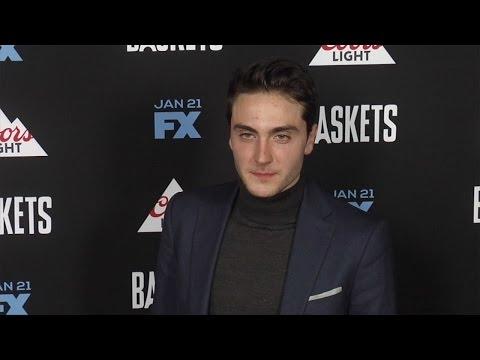 Noah Silver FX's Baskets Premiere Red Carpet