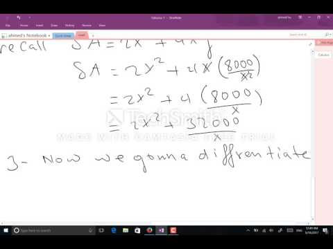 Calculus 1 solving Problems