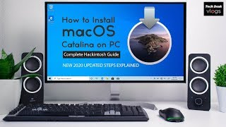 How to install macOS Catalina on  PC Complete Hackintosh Guide