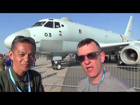 KAWASAKI P-1 TRUMPS BOEING P-8 POSEIDON FOR MARITIME PATROL