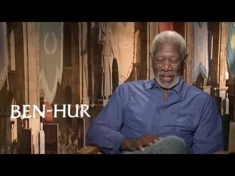 "Ben-Hur: Morgan Freeman ""Ilderim"" Exclusive Interview"