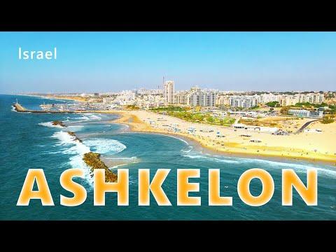 ASHKELON Promenade TODAY, Israel