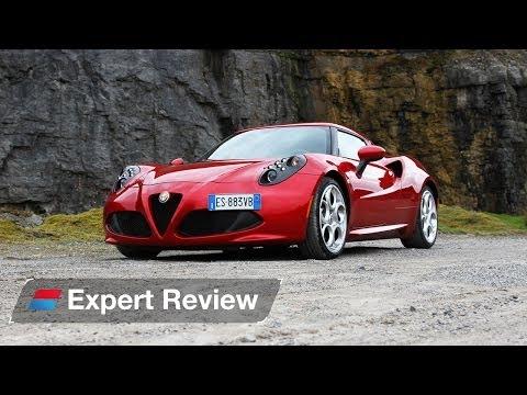 Alfa Romeo 4C coupe expert car review