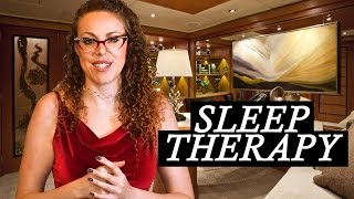 asmr therapy session sleep clinic visit role play sleep hypnosis