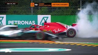 Download Video Hamilton and Vettel Collide at Monza | 2018 Italian Grand Prix MP3 3GP MP4