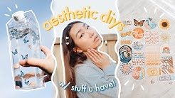✨aesthetic diys w stuff u have at home (proceeds donated to BLM) | JENerationDIY