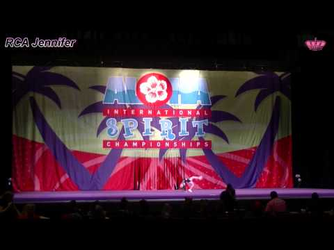 Royal Cheer Academy - 2014 Aloha Spirit Denver - Jennifer