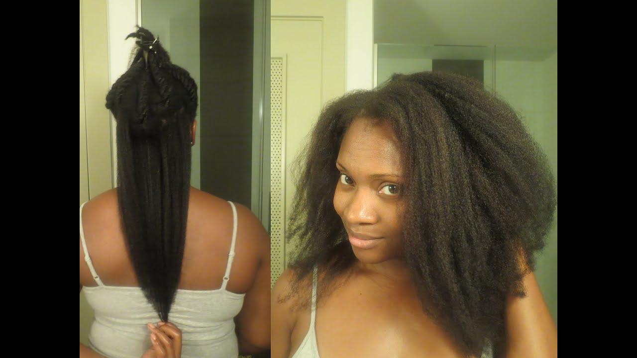 4c Natural Hair: Blow Out w/ Demo & Products Used - YouTube