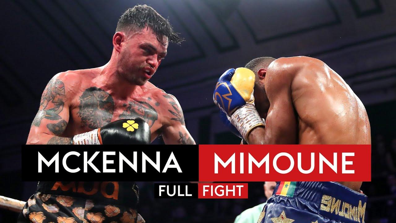 FULL FIGHT! Tyrone McKenna vs Mohamed Mimoune