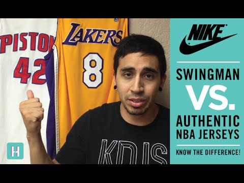 Nike Swingman VS. Authentic NBA Jerseys (How to tell the difference)