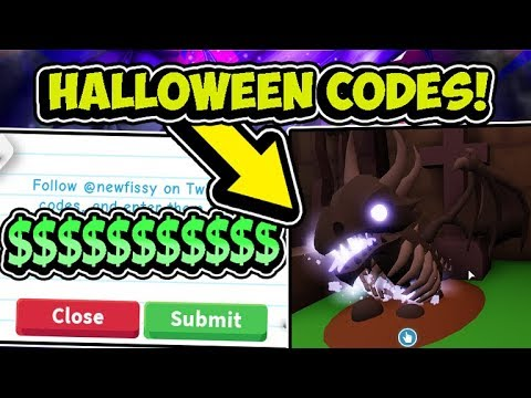 New Adopt Me Halloween Update Secret Pet Codes 2019 Updated Roblox Youtube