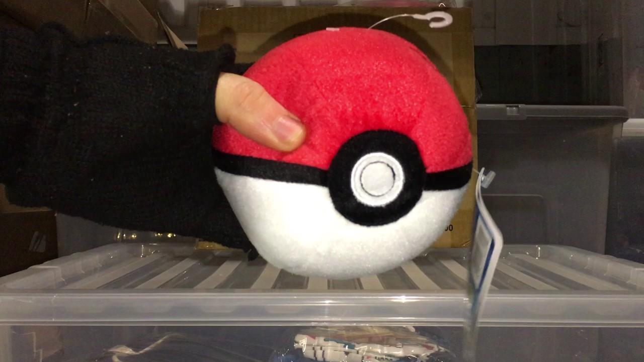 Pokemon Poke Ball Plush T18853ds Youtube