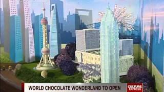 Shanghai World Chocolate Wonderland to open next week