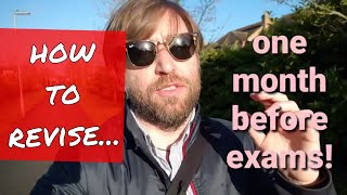 vuclip 1 months before GCSEs and A Levels! how to revise with little time before exams!