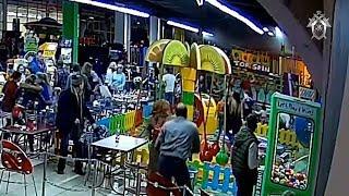 СК РФ опубликовал полное видео начала пожара в Кемерово