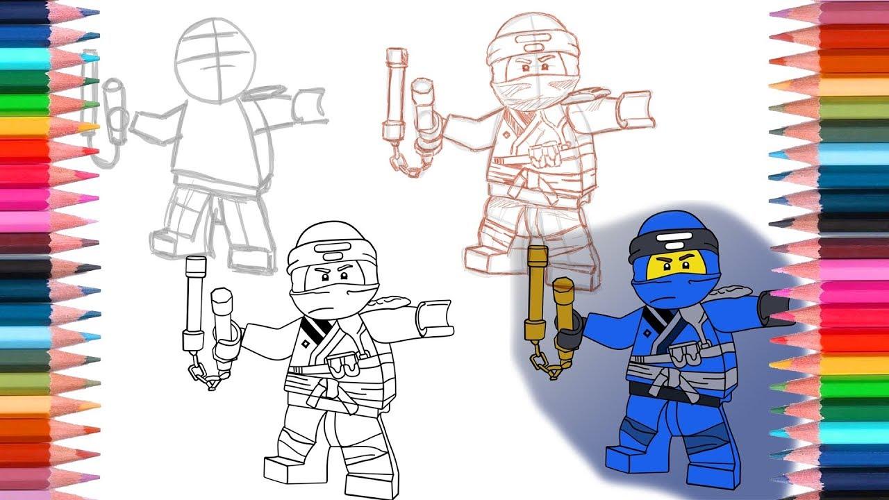 lego ninjago how to draw jungle jay