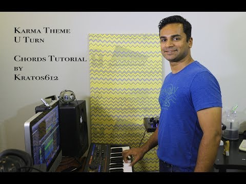 U Turn Karma Theme - Chords Tutorial by Kratos612