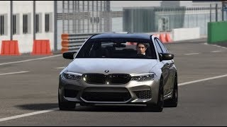 Assetto Corsa BMW M5 F90 Competition test