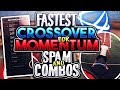NEW CROSSOVER TO HELP YOU SPAM MOMENTUM 10x FASTER AND DRIBBLE 10x FASTER  NBA 2K17