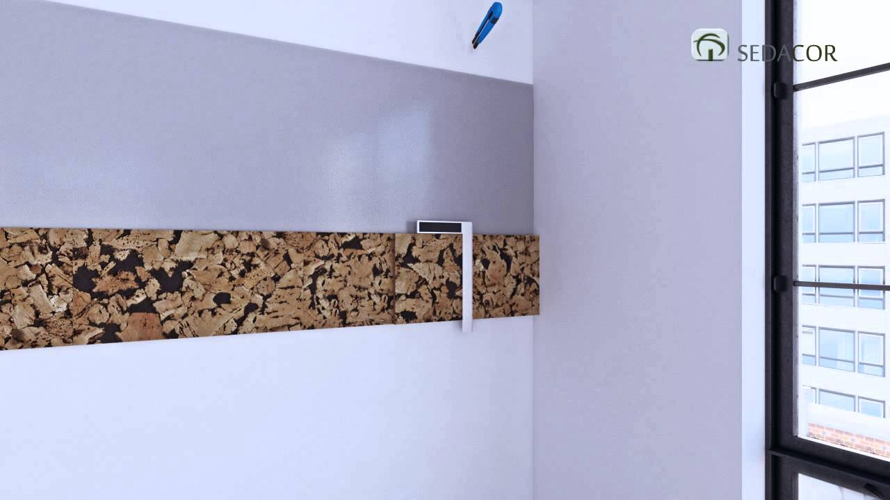 JPSCORKGROUP / SEDACOR - Wall covering installation instructions in ...