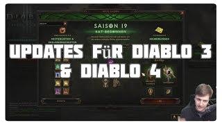 Updates für Diablo 3 & Diablo 4