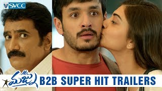 Mr Majnu Back to Back Super Hit Trailers Akhil Nidhhi Agerwal Thaman S Venky Atluri SVCC