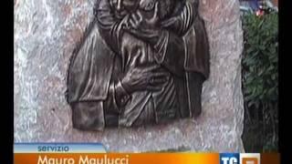 Rai TGR inaugurazione monumento al Papa Beato Giovanni Paolo II San Felice Circeo 21 agosto 2011