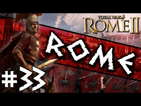 Total War: Rome II: Rome Campaign #33 ~ The Conquest of Britain Begins!