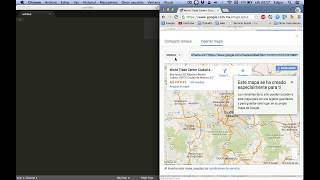 Insertar Mapa de Google Maps en HTML. Actualizado Julio 2015 Free HD Video