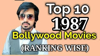 Top 10 Bollywood Movies List | 1987 | Ranking Wise Films